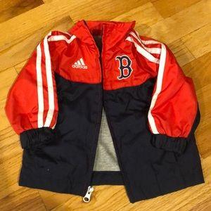 Adidas Boston Red Sox light jacket